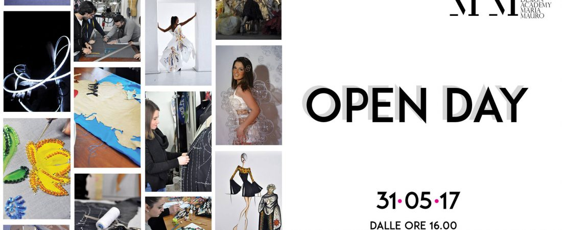 OPEN DAY Maria Mauro Fashion Design Academy