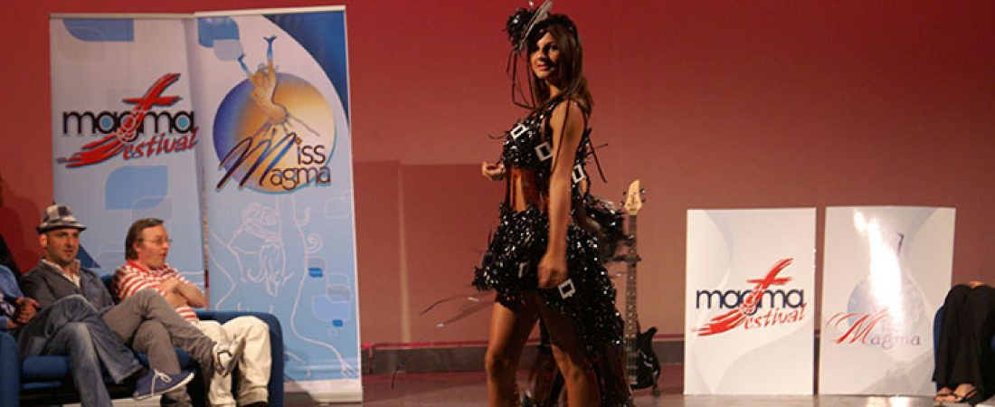 "Accademia Moda e Designer Maria Mauro in Tv. ""Miss Magma"""