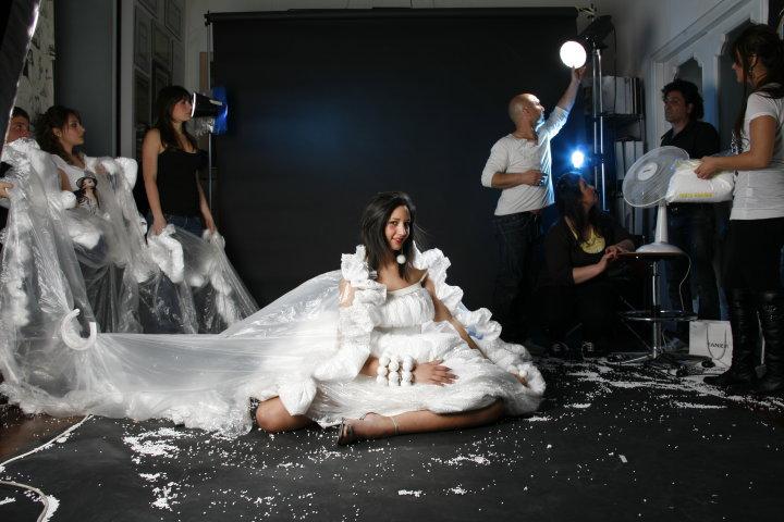 Workshop e shooting con il fotografo di moda rino cardone maria mauro fashion academy corsi e master di taglio e cucito a napoli